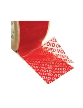 Tamper Evident Box Security Tape